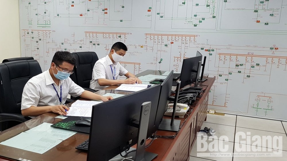 Công ty Điện lực Bắc Giang thực hiện cách ly Trung tâm điều khiển xa